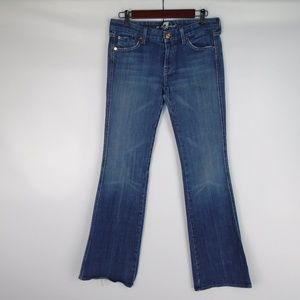 "7 for All Mankind ""A"" Pocket Boot Cut Jeans"